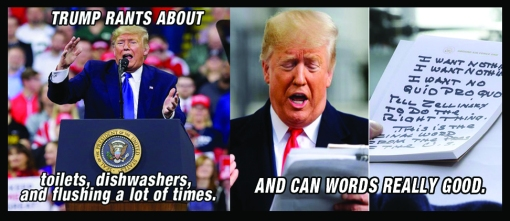 Trump Can Words Really Good