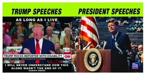 Trump Speeches VS Real Presidential Speeches